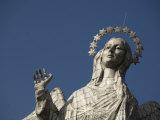 Statue of Virgin of Quito  El Panecillo Hill  Quito  Pichincha Province  Ecuador