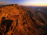 The Summit of the Steens Mountains  Oregon  USA