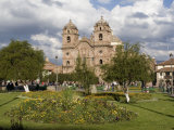 Plaza De Armas  Church of La Compania  Cusco  Peru