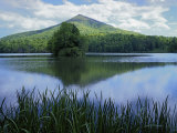 Peaks of Otter  Abbott Lake  Blue Ridge Parkway  Virginia  USA