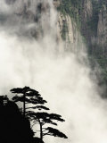 Peaks and Valleys of Grand Canyon in West Sea  Mt Huang Shan  China