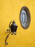 Lantern and Window  San Miguel De Allende  Guanajuato State  Central Mexico