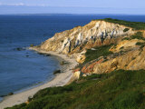 Aquinnah (Gay Head) Cliffs  Martha&#39;s Vineyard  Massachusetts  USA