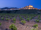 Church and village of San Vicente de la Sonsierra  La Rioja  Spain