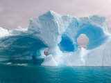 Arched Iceberg  Western Antarctic Peninsula  Antarctica