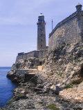 Thick Stone Walls  El Morro Fortress  La Havana  Cuba