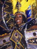 Crop over Carnival  Bridgetown  Barbados  Caribbean