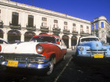 Classic Cars  Old City of Havana  Cuba