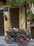 Old Wagon Cart  Chania  Crete  Greece