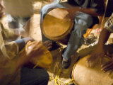 Drum Circle  Garifuna Settlement Day  Hopkins  Stann Creek District  Belize