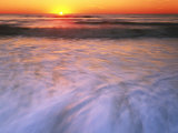 Sunrise over Atlantic Ocean  Assateague Island National Seashore  Virginia  USA