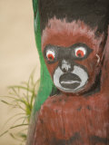 Carved Wooden Figure  Placencia  Stann Creek District  Belize