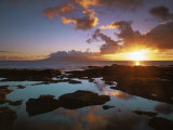 Sunset from Napili Point  Maui  Hawaii  USA