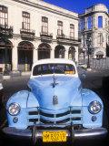 Classic Cars  Old City of Havana  Cuba