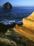 Rock Formations  Cape Kiwanda State Park  Oregon  USA