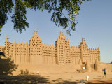 Mosque at Djenne  Mali  West Africa