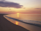 Sunrise over Atlantic  Cape Cod National Seashore  Massachusetts  USA