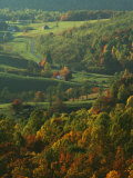 Autumn  Blue Ridge Parkway  Virginia  USA