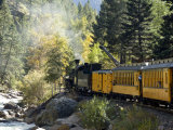 The Durango &amp; Silverton Narrow Gauge Railroad  Colorado  USA