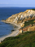 Aquinnah (Gay Head) Cliffs  Martha's Vineyard  Massachusetts  USA