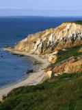 Aquinnah (Gay Head) Cliffs  Martha's Vineyard  Massachusetts  USA