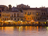 The Old Harbor  Chania  Crete  Greece