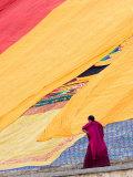 Labrang Monastery Monk  Xiahe  Gansu Province  China
