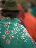 Woman in Traditional Hat  Saquisili  Ecuador