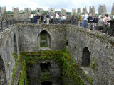 Waiting in Line To Kiss The Blarney Stone  Blarney Castle  Ireland