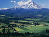 Mt Hood  Hood River Valley  Oregon  USA