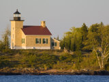 Lighthouse on Lake Superior  Copper Harbor  Michigan  USA