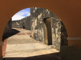 El Morro  San Felipe Castle Courtyard  Old San Juan  Puerto Rico