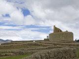 El Castillo Ruins of Inca  Temple of The Sun  Ecuador