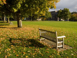 The Dartmouth College Green in Hanover  New Hampshire  USA