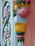 Ornate doorway detalis  Delhi  India