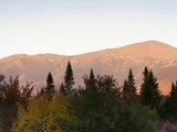 Mount Washington and the Presidential Range  White Mountains  New Hampshire  USA