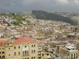 Houses and Buildings  Quito  Pichincha Province  Ecuador