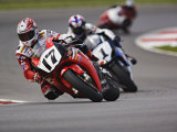 Motorcycle Racer  Mid Ohio Raceway  Lexington  Ohio  USA