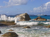 Beach Side at Virgin Gorda  British Virgin Islands  Caribbean