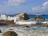 Beach Side at Virgin Gorda  British Virgin Islands  Caribbean