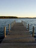 View of Lake Winnipesauke  Wolfeboro  New Hampshire  USA