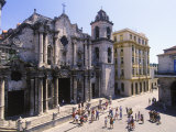 The Cathedral  Plaza De La Caterdral  Cuba