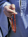 Red Prayer Beads  Aswan  Egypt