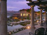 Evening Music Event at Tsillan Winery  Columbia Valley Appellation  Washington  USA