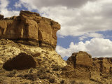 Anasazi 'Una Vida' Ruins  Chaco Canyon  New Mexico  USA