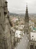Basilica Del Voto Nacional  Quito  Pichincha Province  Ecuador