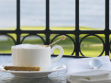 Cup of Cappuccino  Pebble Beach Golf Club  Carmel  California  USA