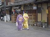 Kimono Beauty  Kyoto  Japan