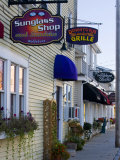 Street Scene in Wolfeboro  New Hampshire  USA