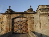 San Cristobal Castle Drawbridge Doors  Fort San Cristobal  Old San Juan  Puerto Rico